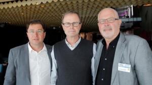 Florin Oprescu, Lee Saville och Lars Gustafsson FOTO: JOHANNES OTTESTIG